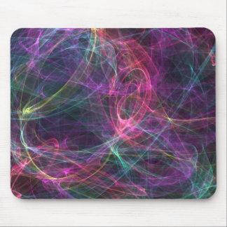 Smokey Abstract Colors Mouse Pad