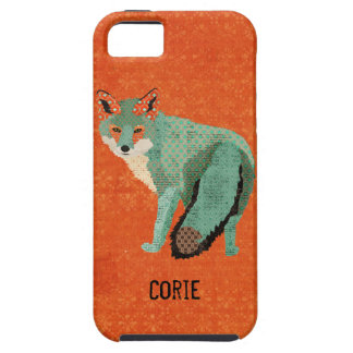 Smokey Amber Fox  iPhone Case iPhone 5 Covers