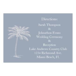 Smokey Beach Getaway Direction Cards