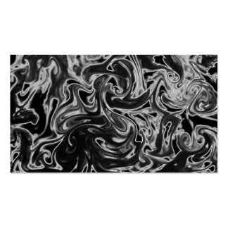 Smokey Black and White Business Card