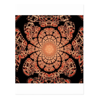 Smokey Black Lace & Incense Design by Sharles Postcard