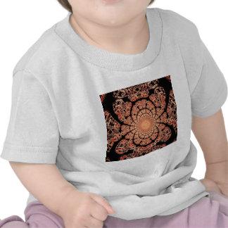 Smokey Black Lace & Incense Design by Sharles Tee Shirt