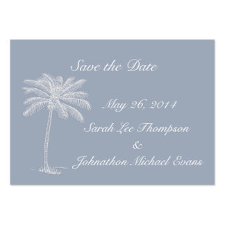 Smokey Blue Beach Getaway Save The Date Cards