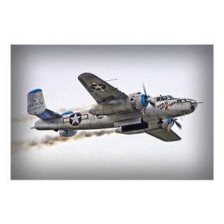 Smokey Bomber Photographic Print