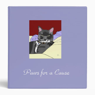 Smokey Cat Scrapbook Binder
