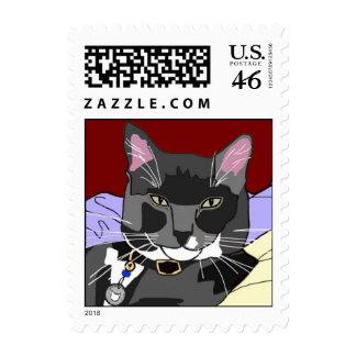 Smokey Cat Stamps