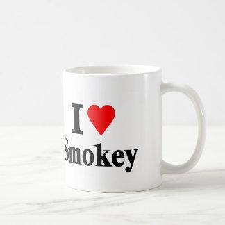 Smokey del amor taza