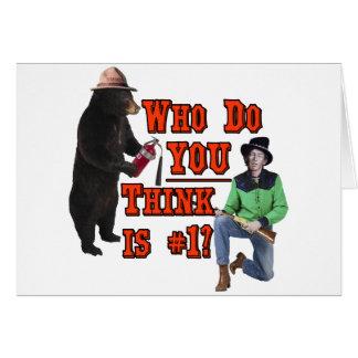 Smokey el oso contra Billy el niño: ¿Quién USTED a Tarjetas