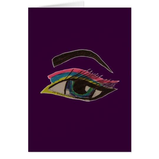 Smokey Eye Card