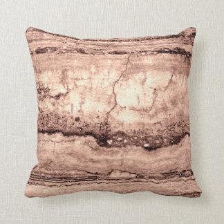 Smokey grey Granite Throw Pillow