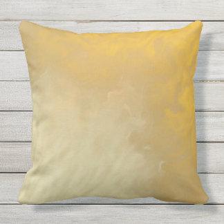 SMOKEY HONEY organic Throw Cushion