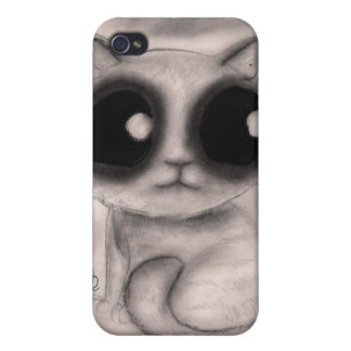 Smokey Kitten - iPhone Case
