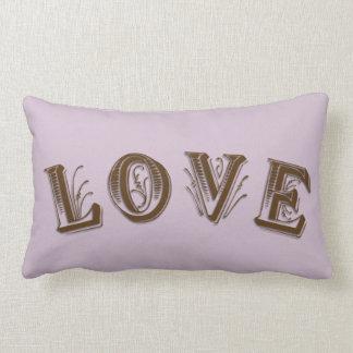 Smokey Lilac   Throw pillow