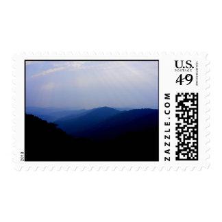 Smokey Mountain Morning Postage