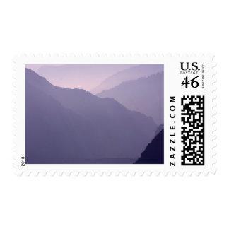Smokey Mountains Haze Postage Stamps