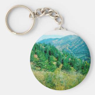 Smokey Mountains Keychain
