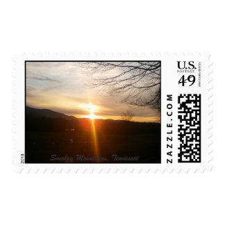 Smokey Mountains Postage Stamps