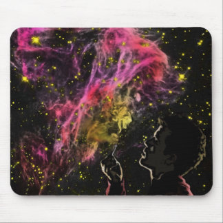 smokey nebula mouse pad