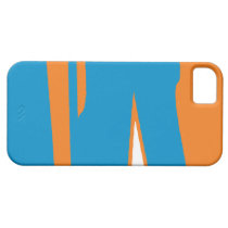 Smokey Orange and Mountain Sky  iPhone 5 Case