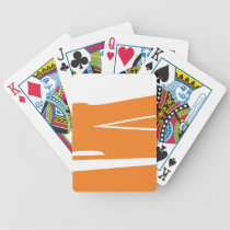 Smokey Orangesicle Bicycle Playing Cards