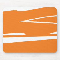 Smokey Orangesicle Mouse Pad