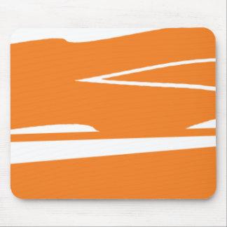 Smokey Orangesicle Mouse Pad