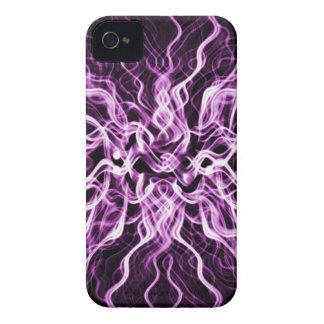 Smokey purple amethyst abstract design iPhone 4 case