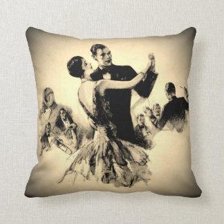 Smokey Swing Time Throw Pillow