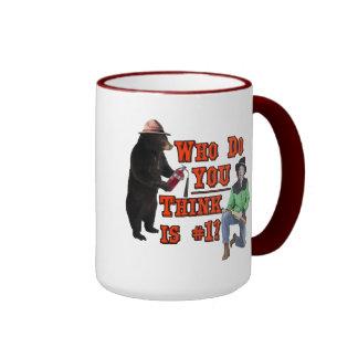 Smokey the Bear vs Billy the Kid: Who do YOU love? Mugs