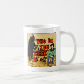 Smokey the Bear vs Billy the Kid: Who do YOU love? Mug