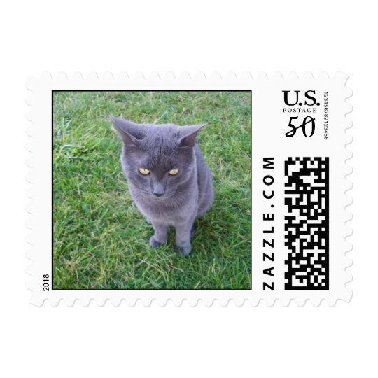 Smokey the Cat Postage Stamps (SMALL)