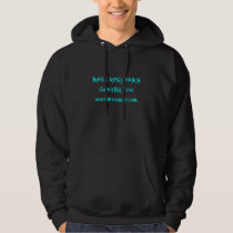 Smokey _Two Cowboys image on back, MGR Text Front Hoodie