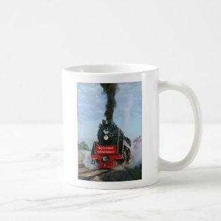 Smokey viejo taza de café