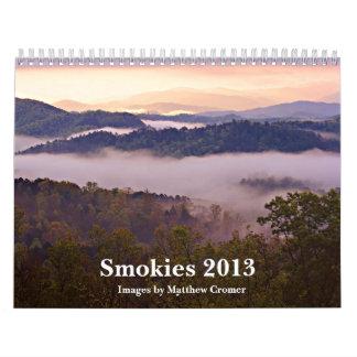 Smokies 2013 - Images by Matthew Cromer Wall Calendars