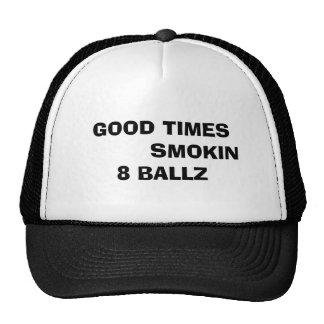 Smokin 8 ballz hat