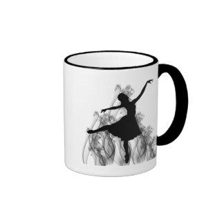 Smokin' Ballerina Ringer Mug