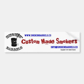 Smokin' Barrels Bumper Sticker
