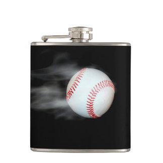 Smokin Baseball Flask