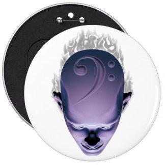 Smokin' Bass Head Button