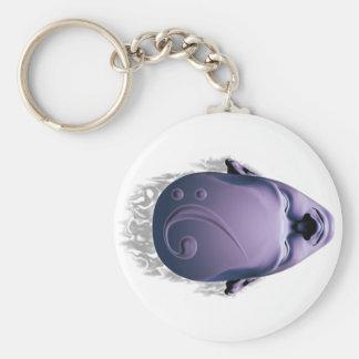 Smokin' Bass Head Keychain
