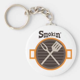 Smokin BBQ Key Chain
