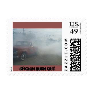 smokin burn out stamp