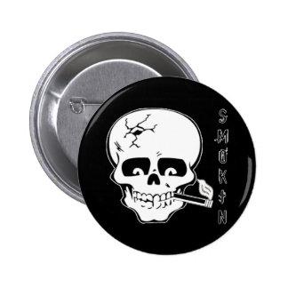 Smokin 2 Inch Round Button