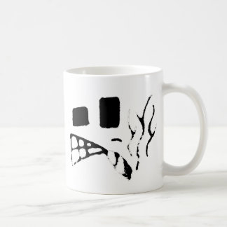 Smokin Face Classic White Coffee Mug