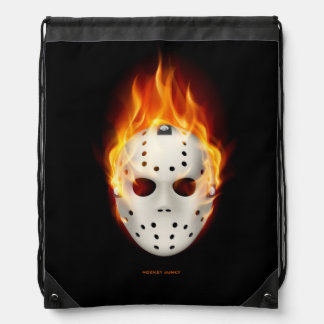SMOKIN' GOALIE DRAWSTRING BAG