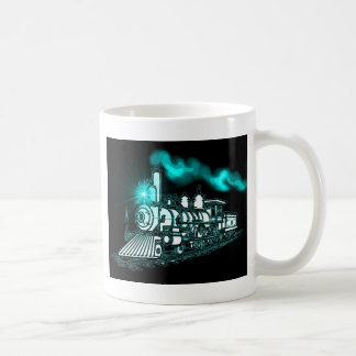 Smokin Green Train Classic White Coffee Mug