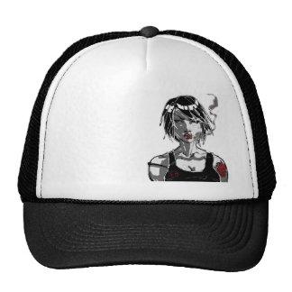 smokin' trucker hat