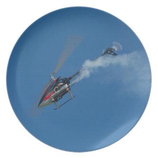 Smokin Heli Plate