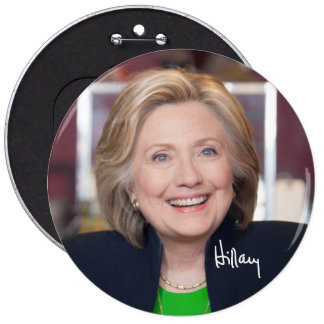 Smokin' Hot Hillary HUGE Button