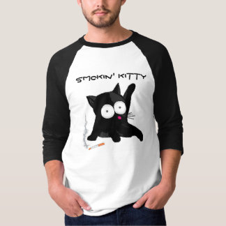 Smokin' Kitty Tee Shirt